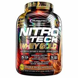 Nitro Tech 100% Whey Gold 2.51 Kg.