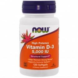 Vitamina D3 5000 IU 120 capsule