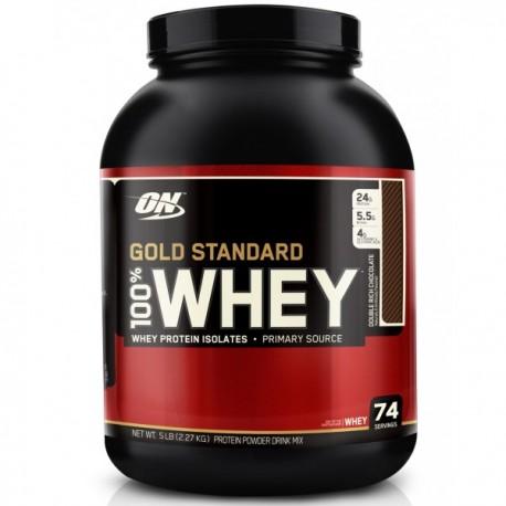 ON GOLD STANDARD 100% WHEY 2.27 KG + SHAKER GRATUIT