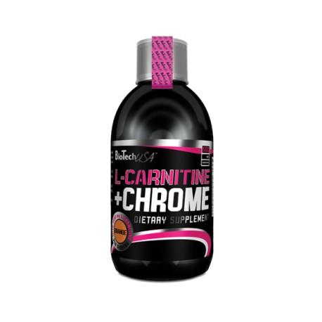 L-Carnitine + Chrome 500 ml