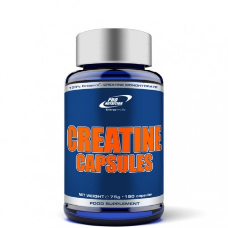 Creatine capsules 150 caps.