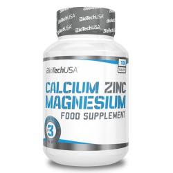 Calcium Zinc Magneziu 100 tablete