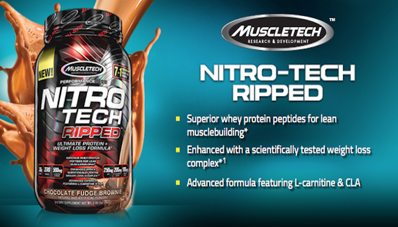 nitrotech ripped muscletech